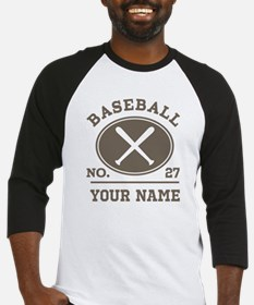 Personalized Baseball Number Player Name Baseball