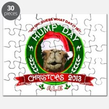 Hump Day Camel Christmas Ale Label Puzzle
