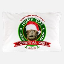 Hump Day Camel Christmas Ale Label Pillow Case