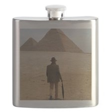 The British Archaeologist FRAMED Flask