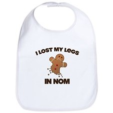 I lost My Legs In NOM Bib