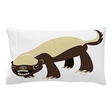 Honey Badger Pillow Case