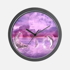 dod_shower_curtain Wall Clock