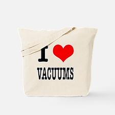I Heart (Love) Vacuums Tote Bag