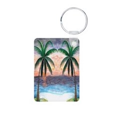 Sunset Palms Keychains