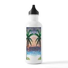 Sunset Palms Water Bottle