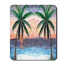 Sunset Palms Mousepad