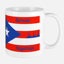 Puerto Rican Flag NYC Statue of Liberty Mug