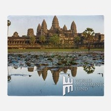 Angkor Wat Throw Blanket