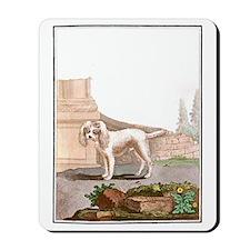 Dog (Small Barbet) Mousepad