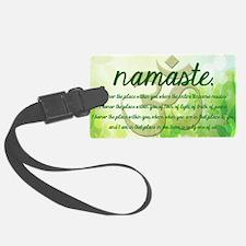 Namaste Greeting Luggage Tag