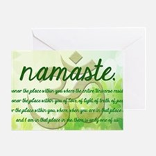 Namaste Greeting Greeting Card