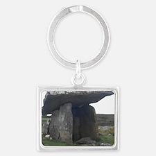 Poulnabrone Dolmen Landscape Keychain