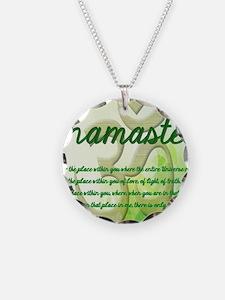 Namaste Greeting Card Necklace