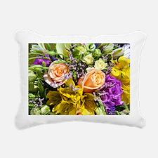 Bouquet Rectangular Canvas Pillow