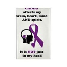 chiari.affects... Rectangle Magnet
