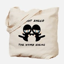 Womb Ninja Twins Tote Bag