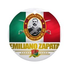 Emiliano Zapata Round Ornament