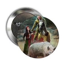 "The White Wolf Prophecy Lovers 2.25"" Button"