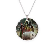 The White Wolf Prophecy Love Necklace