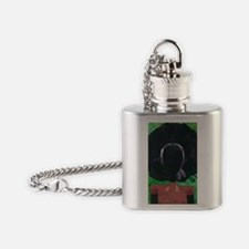 Girl with the Big Afro Flask Necklace