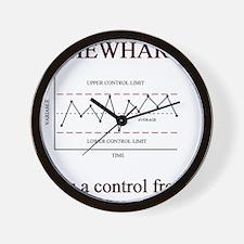 Shewhart Wall Clock