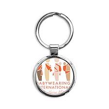BWI Southern Maryland Logo Round Keychain