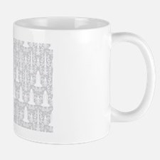 Rocket Science Damask Mug