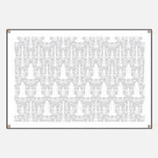 Rocket Science Damask Banner