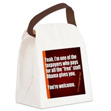 Youre Welcome Canvas Lunch Bag