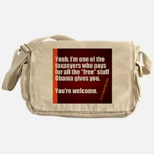 Youre Welcome Messenger Bag
