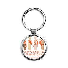 BWI of Southern Maryland Logo Round Keychain