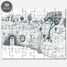 House in the hill Puzzle