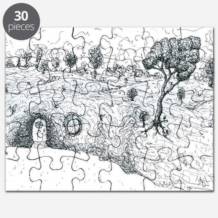 Jerusalem House Puzzle: Middle Earth Puzzles, Middle Earth Jigsaw Puzzle Templates