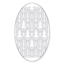 Rocket Science Damask Decal