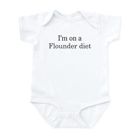 Flounder diet Infant Bodysuit