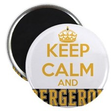 Keep Calm and Bergeron Tee Magnet