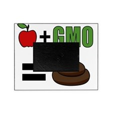 GMO Equals Poo Picture Frame