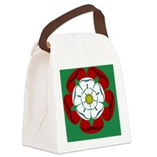 Tudor Rose sticker Canvas Lunch Bag