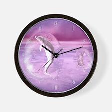 dod_large_wall_clock_hell Wall Clock