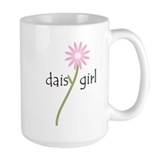 Pink Daisy Girl Mug