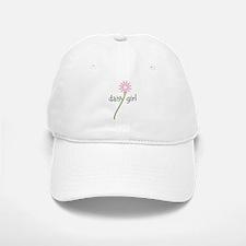 Pink Daisy Girl Baseball Baseball Cap