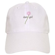 Pink Daisy Girl Baseball Cap