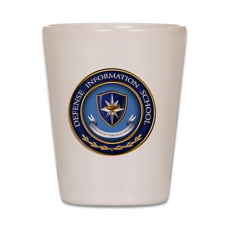 Defense Information School Clasic Shot Glass