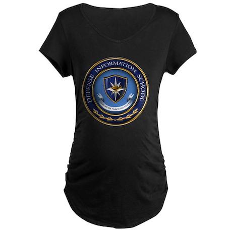 Defense Information School Maternity Dark T-Shirt