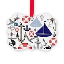 Naturally Nautical Ornament