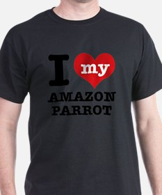 I Love My Amazon Parrot T-Shirt