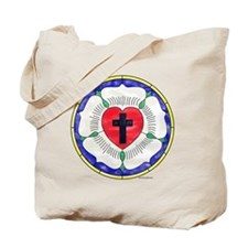 Luther Seal Stained Glass Motif Tote Bag