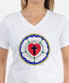 Luther Seal Stained Glass M Shirt