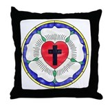 Luther rose Cotton Pillows